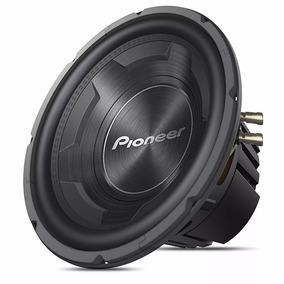 Pioneer Cara Preta 12 1200w Ts 3090 Subwoofer 600rms