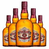 Caixa 12 Whisky Chivas Regal Escocês 1l 12 Anos Original