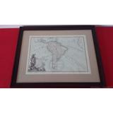 1782 Mapa Antiguo América Del Sur Argentina Sudamérica