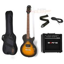 Guitarra Les Paul Epiphone Special Sunburst + Borne G30