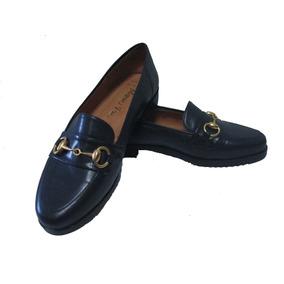 Zapato María Pía P/dama Azul Marino Talla 37 Antirresbalante