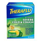 Theraflu Nocturno Gripe Severa Y Medicamentos Para La Tos, M