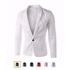 ceb58ea580 Blazer Slim Casual Moda Masculino Terno Iv- Encomenda