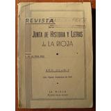 L1541. Revista De La Junta De Historia Y Letras De La Rioja