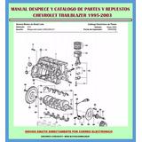 Manual De Despiece Y Catalogo De Partes Repuesto Trailblazer