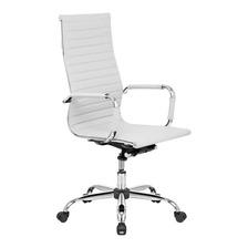 Cadeira De Escritório Show De Cadeiras Presidente Charles Eames Ergonômica Branca