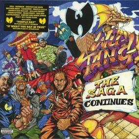 Vinilo Wu Tang Clan The Saga Continues