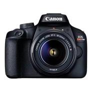 Câmera Canon Digital Profissional Rebel T100 Pronta Entrega