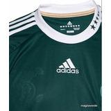 Camisa Palmeiras 2010 adidas Manga Longa Uniforme 1 Novinha