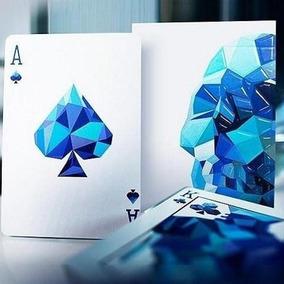 Baraja De Poker Memento Mori Azul