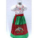 Disfraz China Poblana Traje Vestido México Independencia