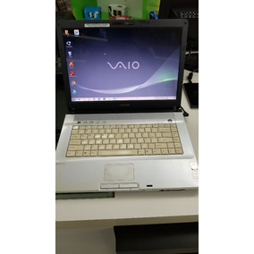 Notebook Sony Vaio Usado Core 2 Duo 2gb Hd 120gb Ver Descric