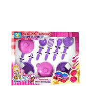 Jogo De Cozinha Infantil Panelinhas Kit Com 9 Peças