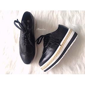 Zapatos Oxford Plataforma Prada (tipo)