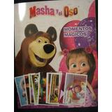 Masha Y El Oso.- 24 Figuritas Distintas Mas El Album.-