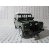 Camioneta Jeep Land Rover Escala 1/43 Coleccion 9cm Largo