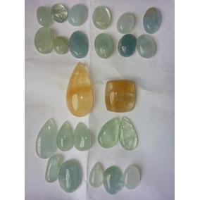 Lote Agua Marinha 25 Pedras Preciosas
