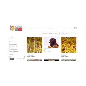 Loja Virtual Ou Site Para Delivery - Com Estrutura E Suporte