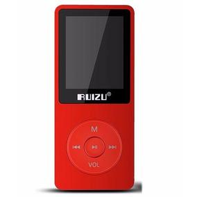 Mp4 Player Ruizu 8gb X02 Mp3 Musica Vídeos Visor Multimídia