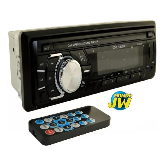 Autoestereo Bluetooth Stereo Mp3 Usb Sd Desmontable Fm Am
