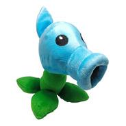 Peluche Plantas Vs Zombies Lanza Guisantes Azul Hielo 24cm