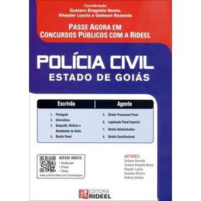 Polícia Civil Estado De Goiás - Passe Agora Em Concursos P