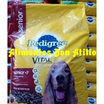 Alimento Pedigree Señior X 9 Kg Mayor + 7 Años Vida Plena