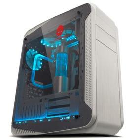 Gabinete Gamer Xtrike Gaming Desertic G9 Branco Com Led Azul