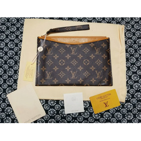 Cartera Pochette De Mano Monogram De Lv Louis Vuitton Piel