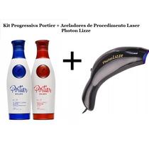 Aparelho Photon Lizze Laser Acelerador + Progressiva Portier