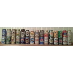 Coleção De Latas De Cerveja Antigas