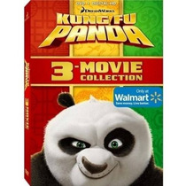 Kung Fu Panda 1-3 (dvd + Copia Digital)