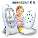 Monitor Para Bebe Audio Y Video Con Vision Nocturna Y Sensor
