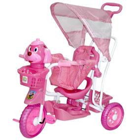 Triciclo Velotrol Belfix Criança Bebê Carrinho De Passeio
