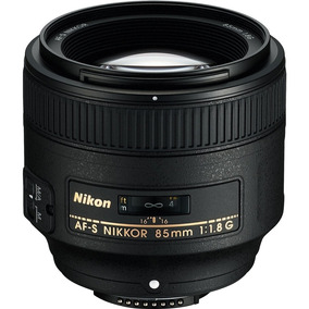 Lente Nikon 85mm F/1.8g Af-s Pronta Entrega, Garantia 1 Ano.