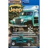 Auto Jeep Willys 4x4 Camioneta Estanciera Matchbox Ret Rdf1