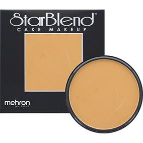 Mehron Makeup Starblend Cake Makeup Meduim Ebony 2oz