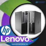 Cpu Lenovo / Hp Core I3, 1gb En Ram De Remate