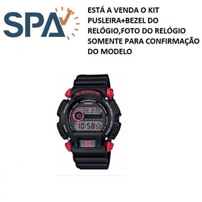 Pulseira E Bezel Para Relogio Casio Dw-9052-1c4