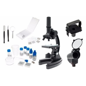 Microscópio C/ Ampliação Até 1200x Adapt. P/ Câmera E Malet