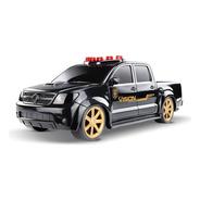 Carrinho De Policia Federal Pick-up Hilux Roma Brinquedos
