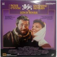 Laserdisc(2) The Lion In Winter - Peter O'toole, K. Hepburn