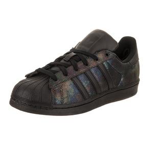 Tenis adidas Originals Superstar Black Irisdescent