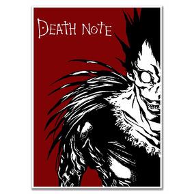 Poster Death Note Tamanho A4 Sem Moldura