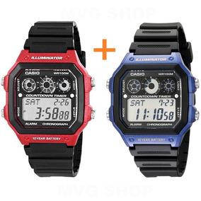 7b5145e0e95 1000 Wr 10 Bar Esportivo Casio Relogio Cassio 1 - Relógio Masculino ...