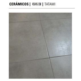 Ceramica Tatami Deco Acero 45x45- Cerro Negro -