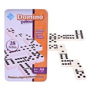Juego Domino De Mesa 28 Fichas Deluxe New Cod 7394 Bigshop