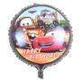 Vareta + Balão Metalizado Carros 45cm / 66x49cm