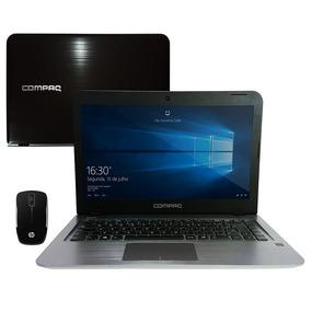 Notebook Compaq Presario Cq17 + Mouse Z3200 Sem Fio - Preto
