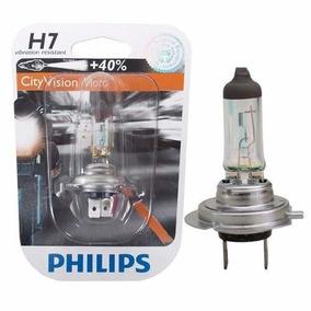 Lampada Farol Biodo 12v / 55w. H7 Hornet - Moto Vision Phili